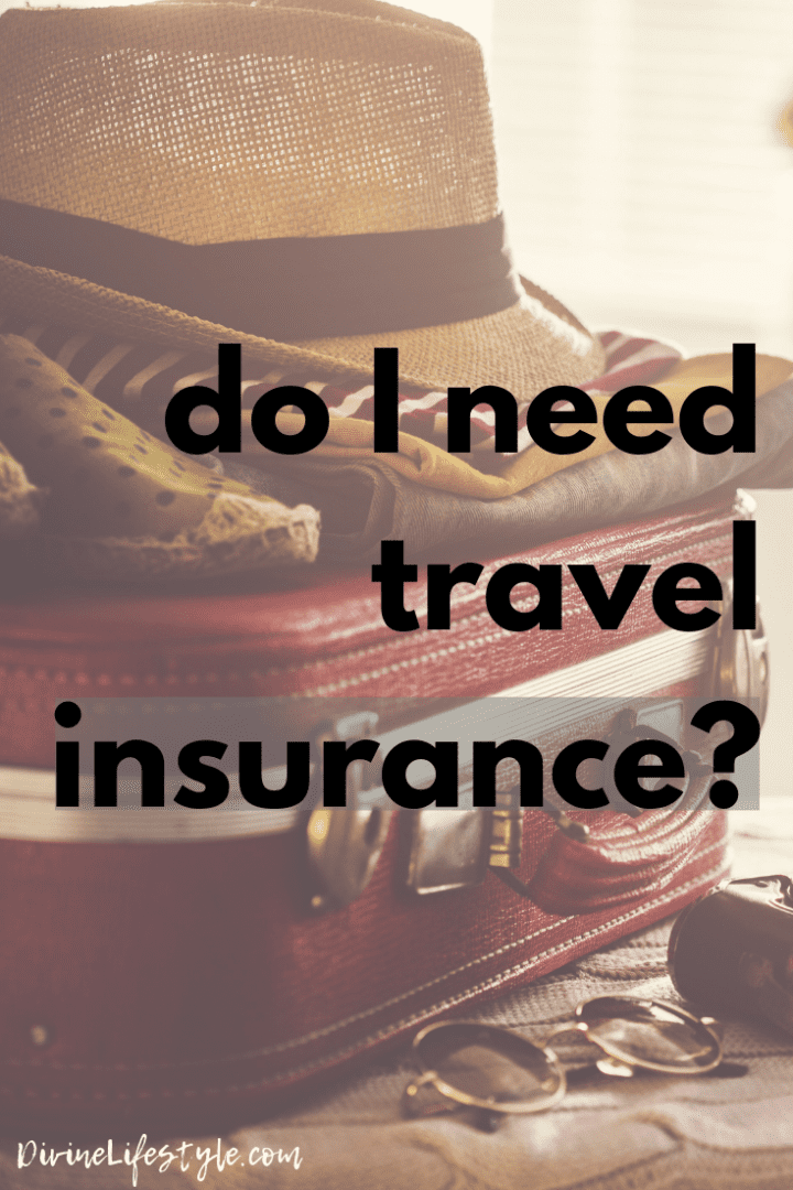 Do I really need travel insurance? hat and suitcase