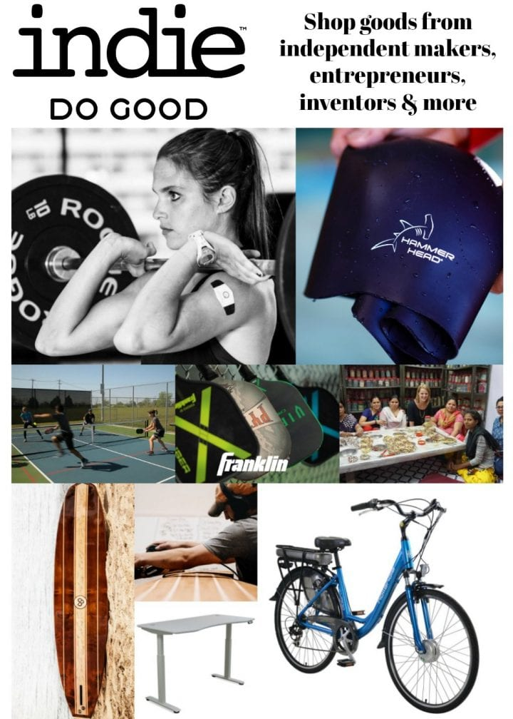 Shop to Support Innovative Artisans and Entrepreneurs with IndieDoGood.com