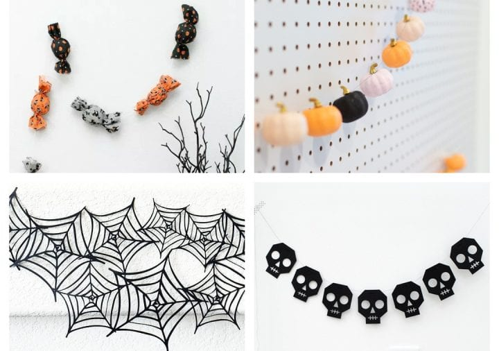 25 DIY Halloween Garland Ideas