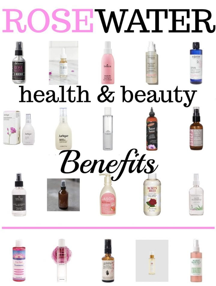 Health and Beauty Benefits of Rosewater