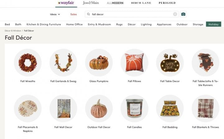 Fabulous Fall Decor: Make it a Harvest Home with Wayfair #WayfairHarvestHome #WayfairAtHome