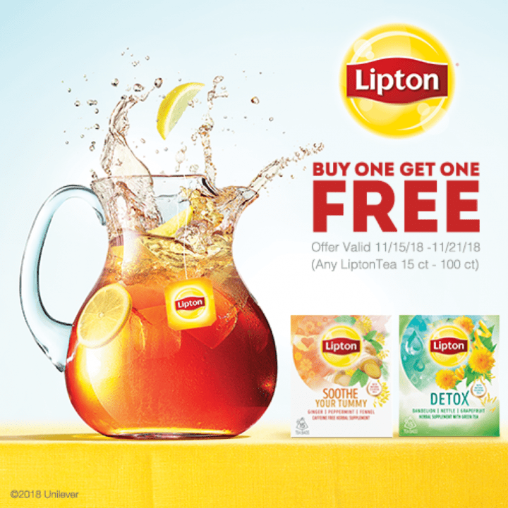 Thanksgiving Survival Kit with Lipton Detox Tea