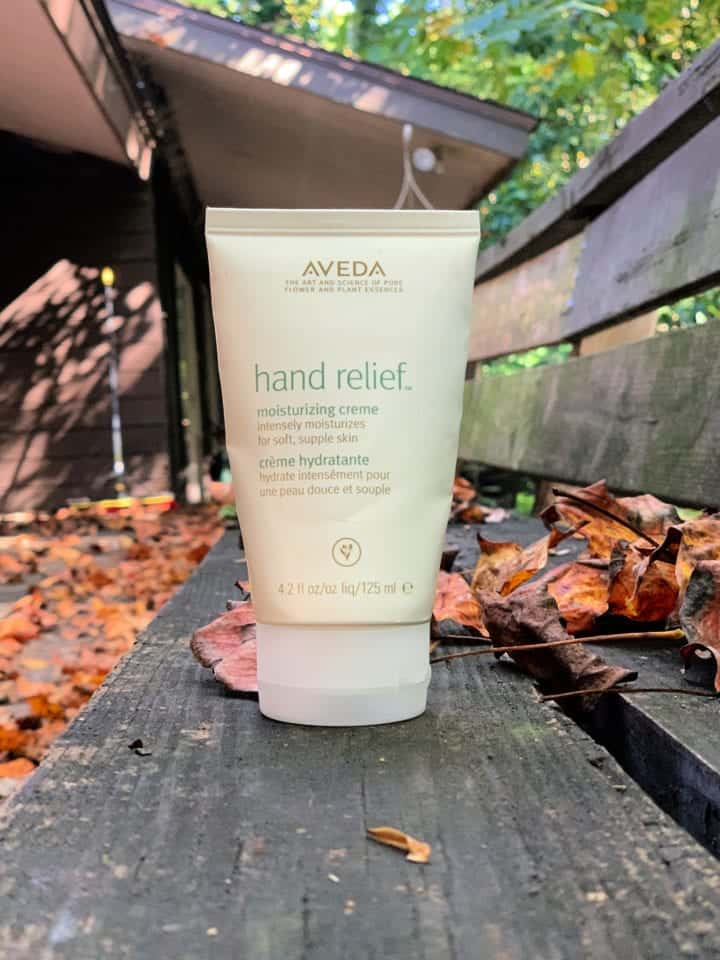 Aveda Hand Relief Moisturizing Creme Review hand relief night renewal serum