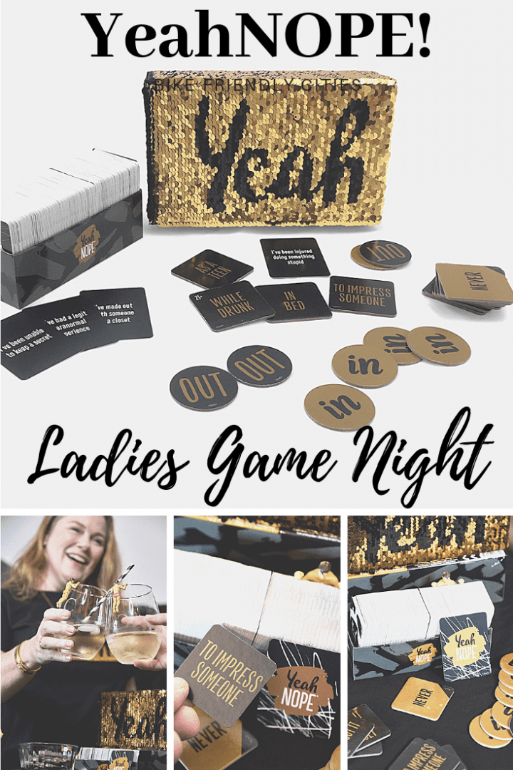Ladies' Game Night with YeahNOPE #YeahNOPE