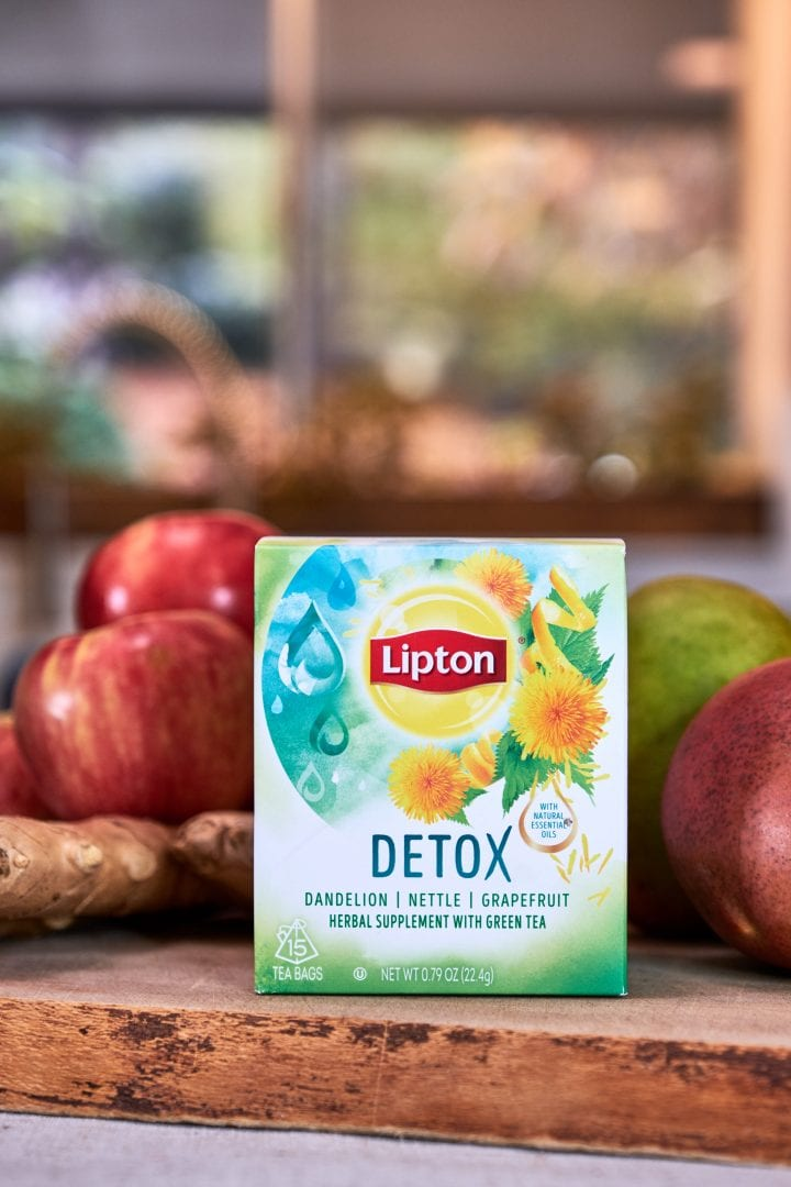 Thanksgiving Survival Kit with Lipton Detox Tea 13