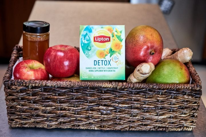Thanksgiving Survival Kit with Lipton Detox Tea 2
