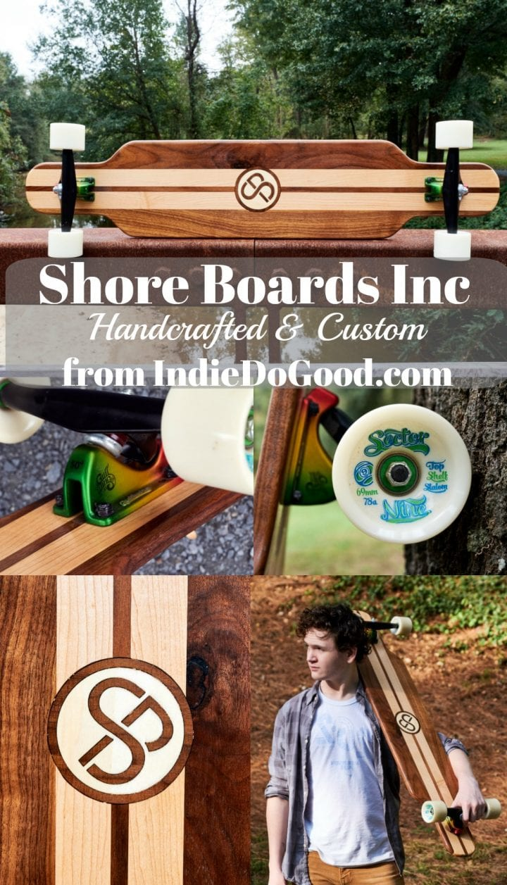 IndieDoGood.com Maker Spotlight: Handcrafted and Custom Shore Boards #MakersMovement