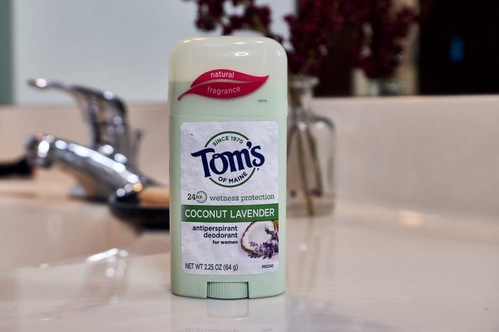 Confident, fresh and protected with Tom's of Maine Natural Deodorant #WhyISwitched #GoodnessCircle