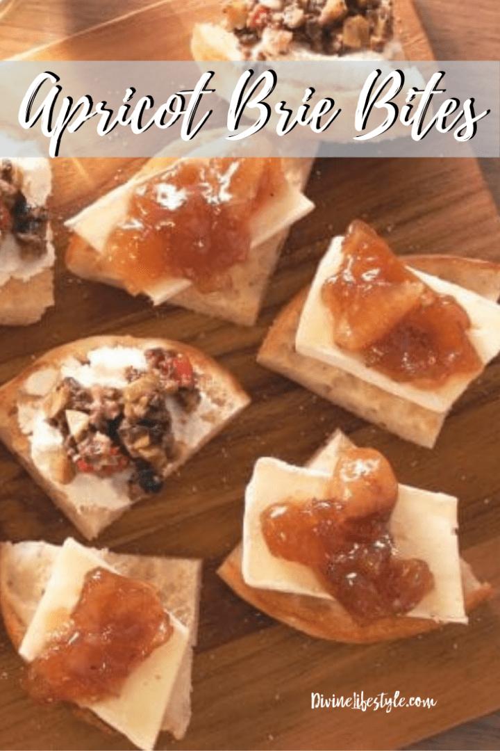 Apricot Brie Bites Recipe