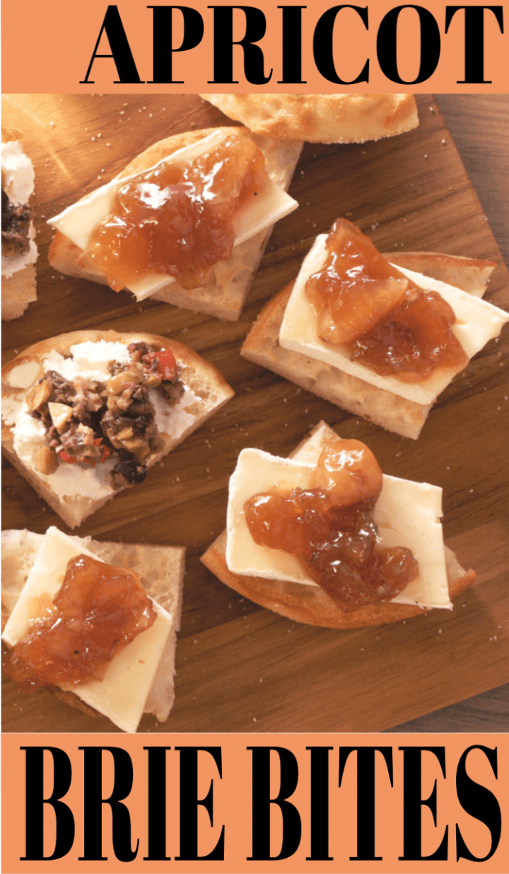 Apricot Brie Bites Recipe Bays English Muffins