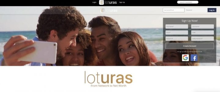 Monetize your communication with the new social network Loturas