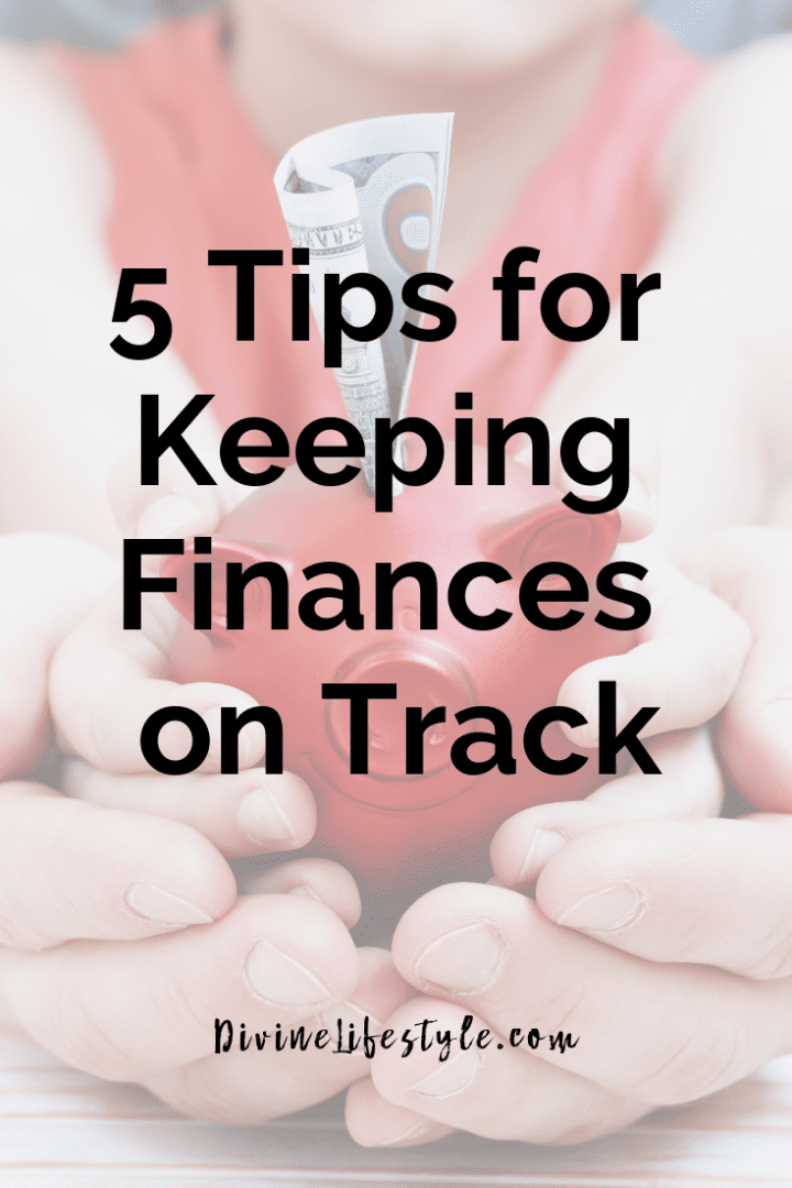 5 Tips for Keeping Finances on Track #LetsMakeAPlan