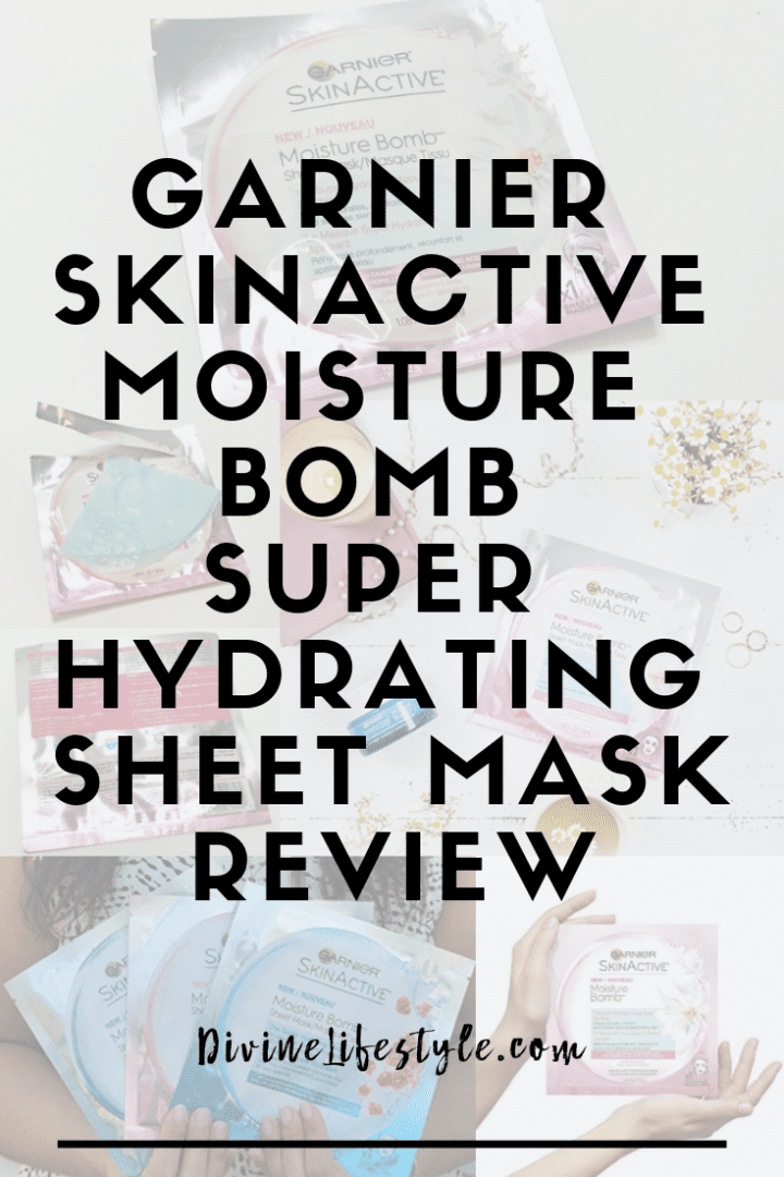 Garnier SkinActive Moisture Bomb Super Hydrating Sheet Mask Review