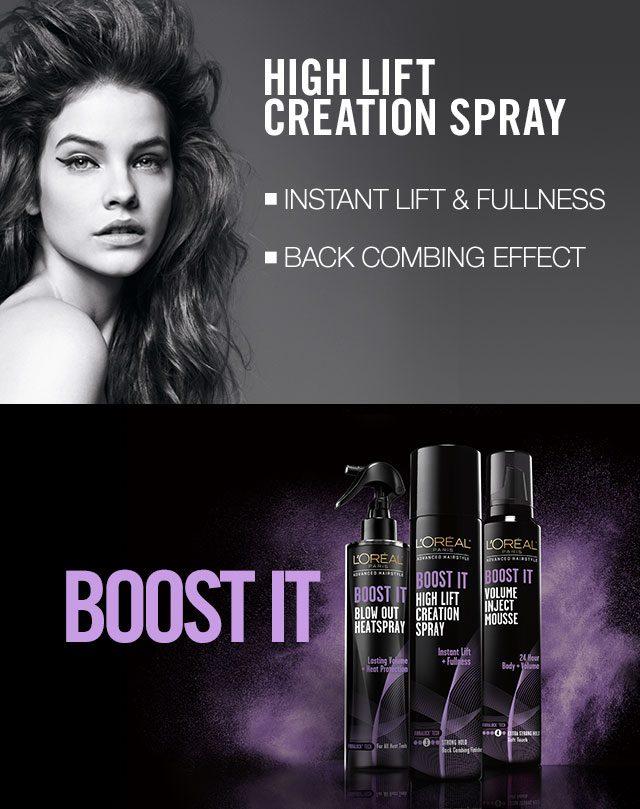 L'Oreal Boost It Hair Spray | Advanced High Lift Creation Spray