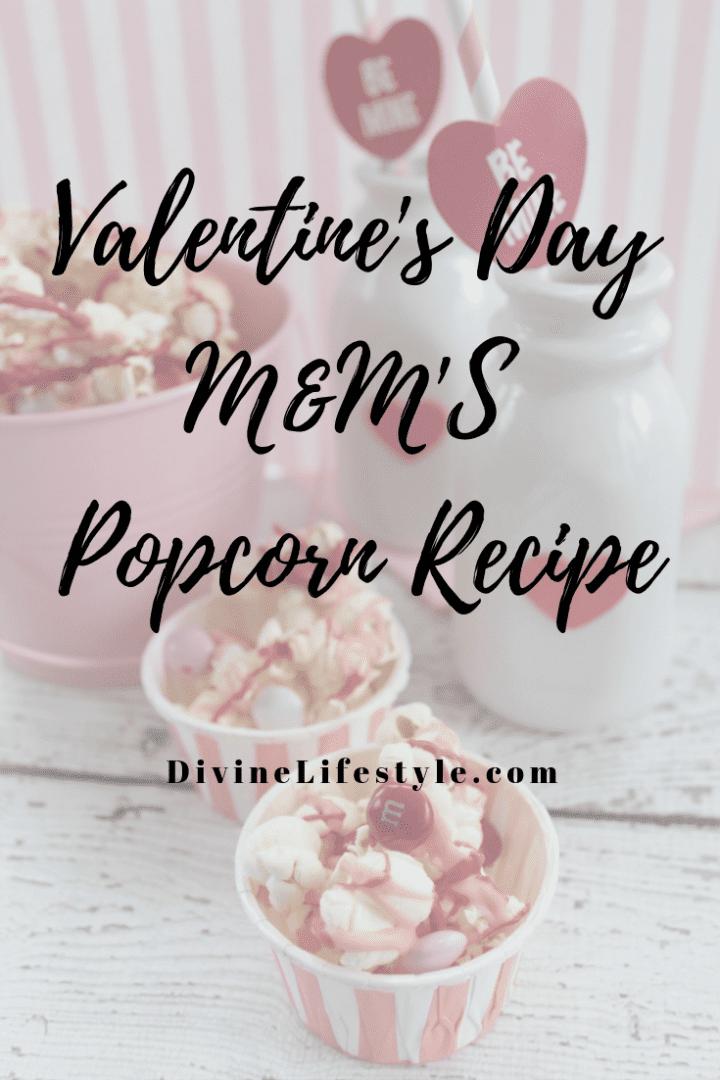 Valentine's Day M&M'S Popcorn Recipe