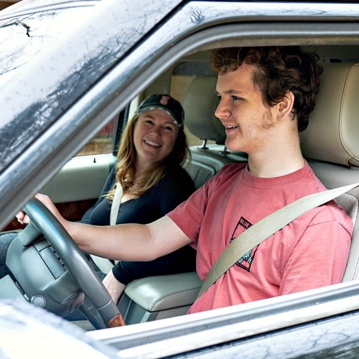 Teaching a Teen to Drive: Handing Over the Keys
