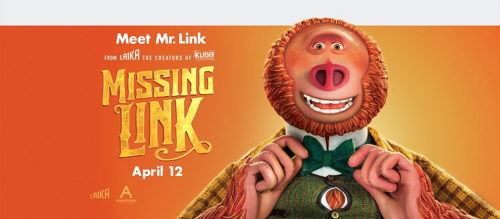 Missing Link in Theatres April 12! | #MissingLink