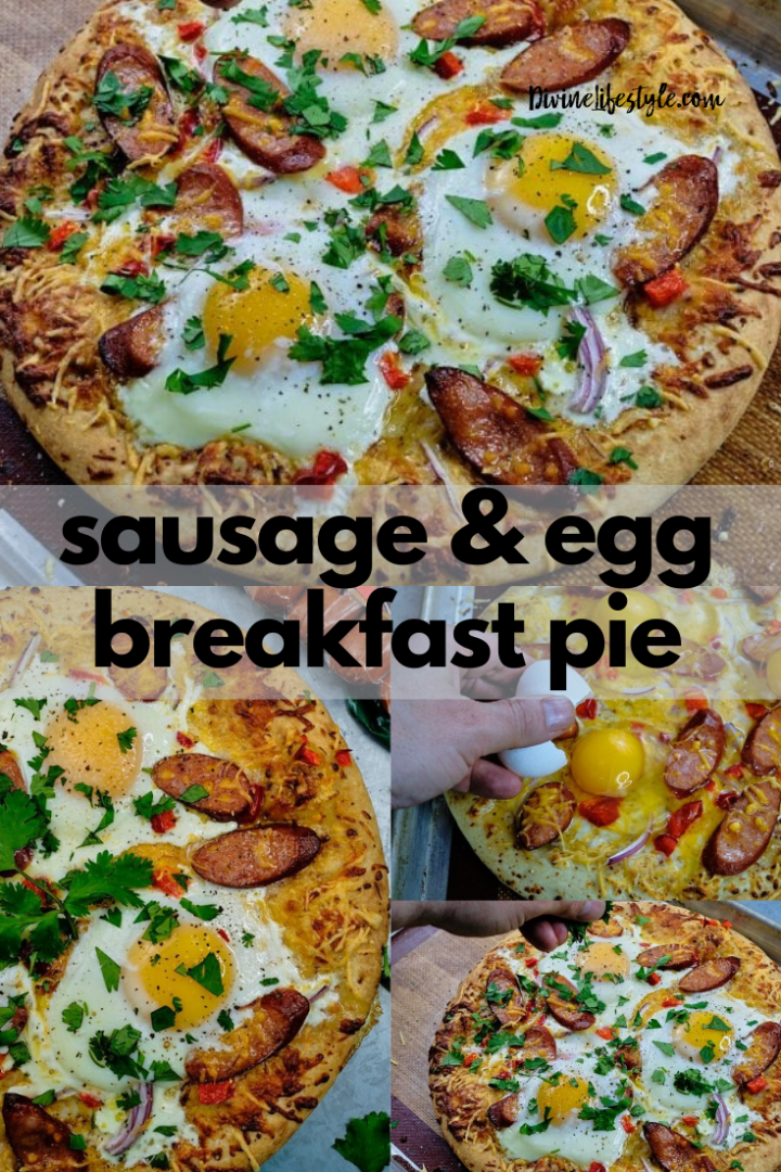 Easy Sausage and Egg Breakfast Pie