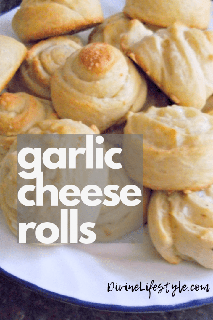 Garlic Cheese Rolls Recipe
