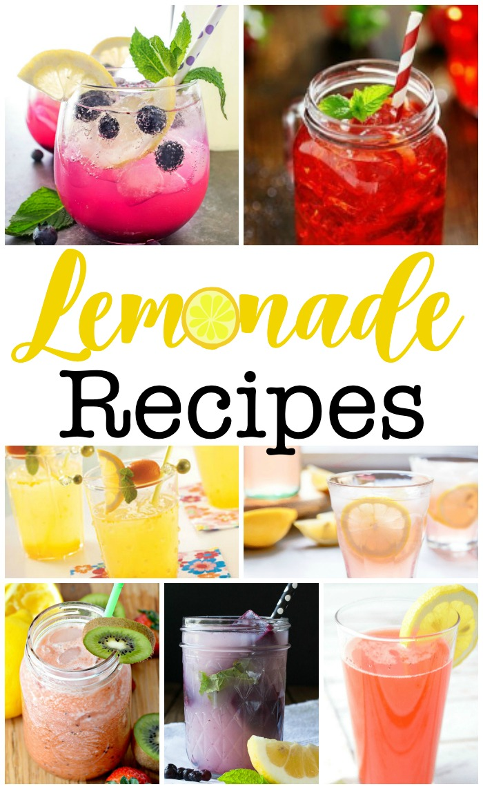 17 Lemonade Recipes