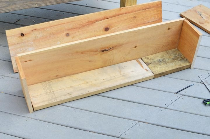 DIY Rectangle Wood Planter