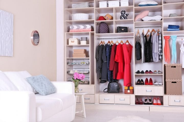 Tips for Decluttering Getting Organized and Sparking Joy from Marie Kondo with Checklist
