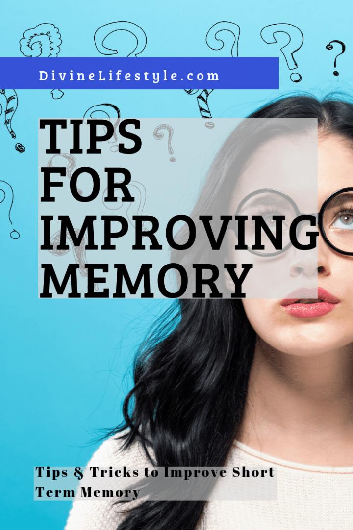 Tips for Improving Memory