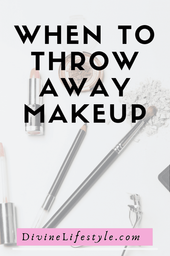 When to Throw Away Makeup