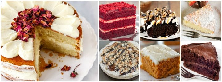17 Cake Recipes