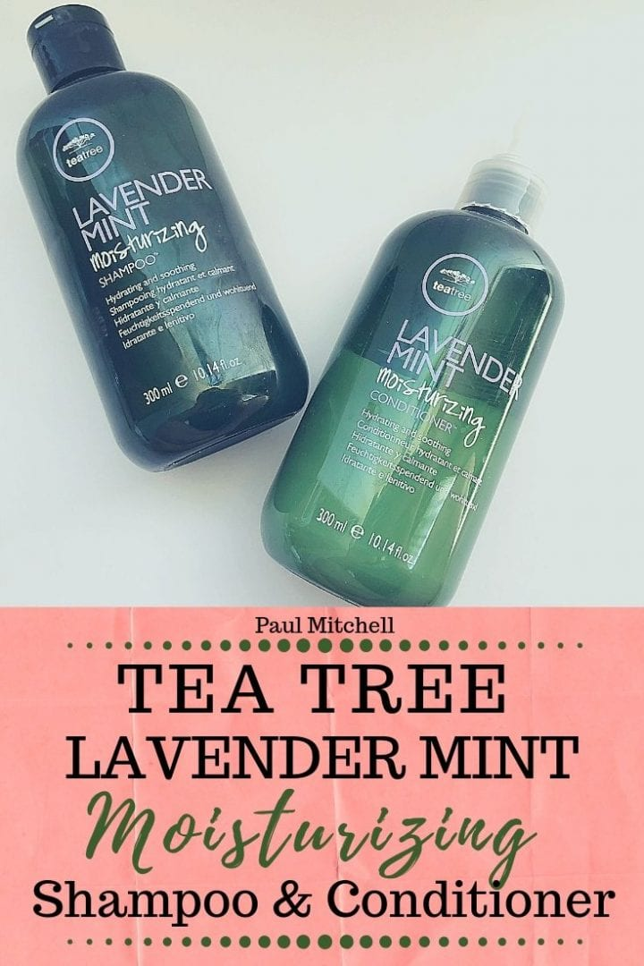 Paul Mitchell Tea Tree Lavender Mint Moisturizing Shampoo and Conditioner