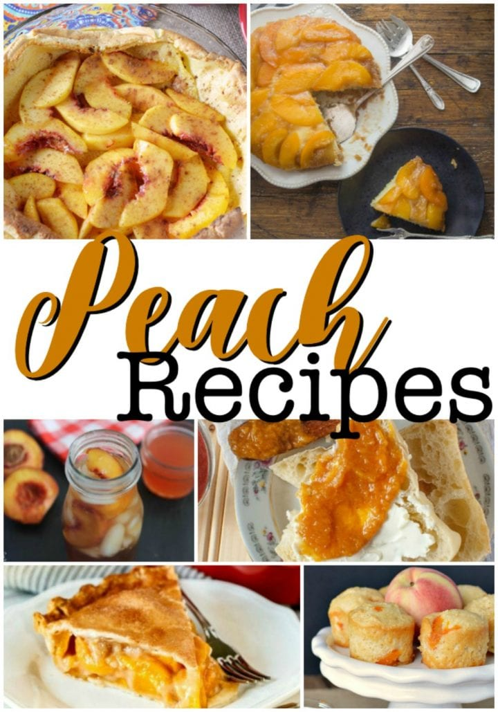 17 Recipes Using Peaches
