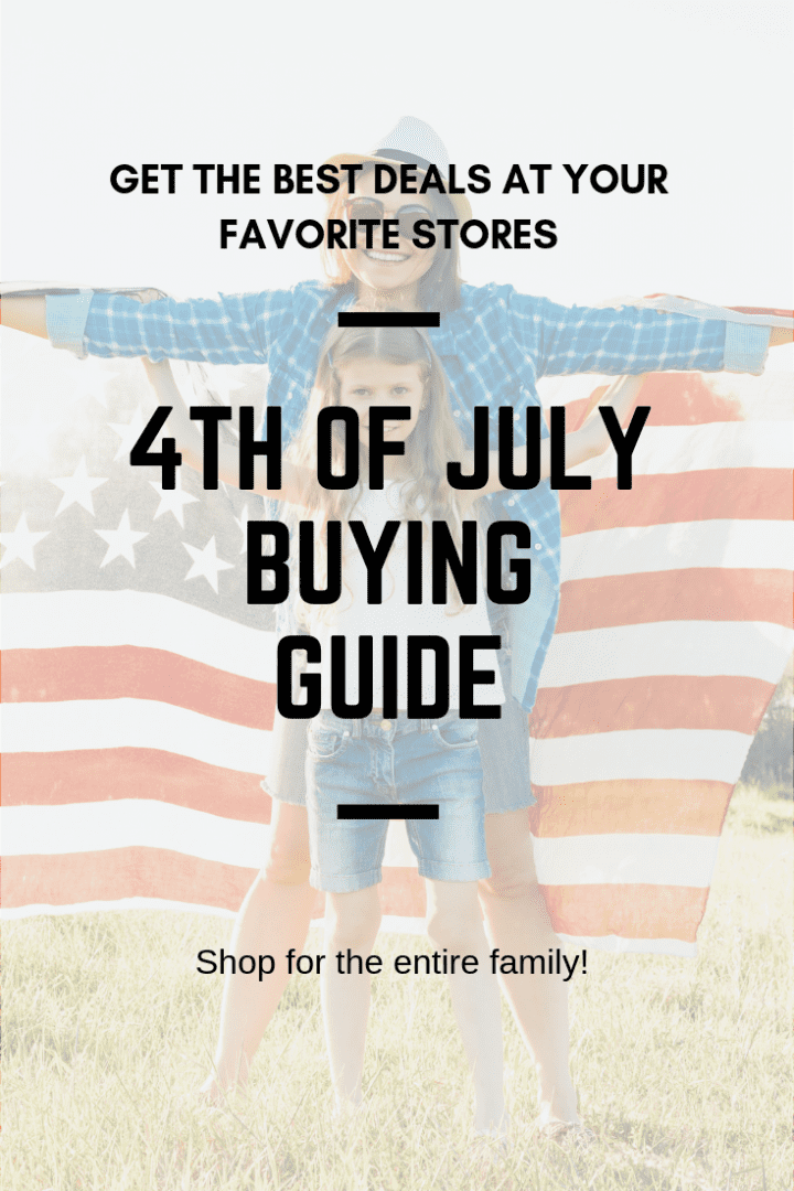 4th of July Buying Guide