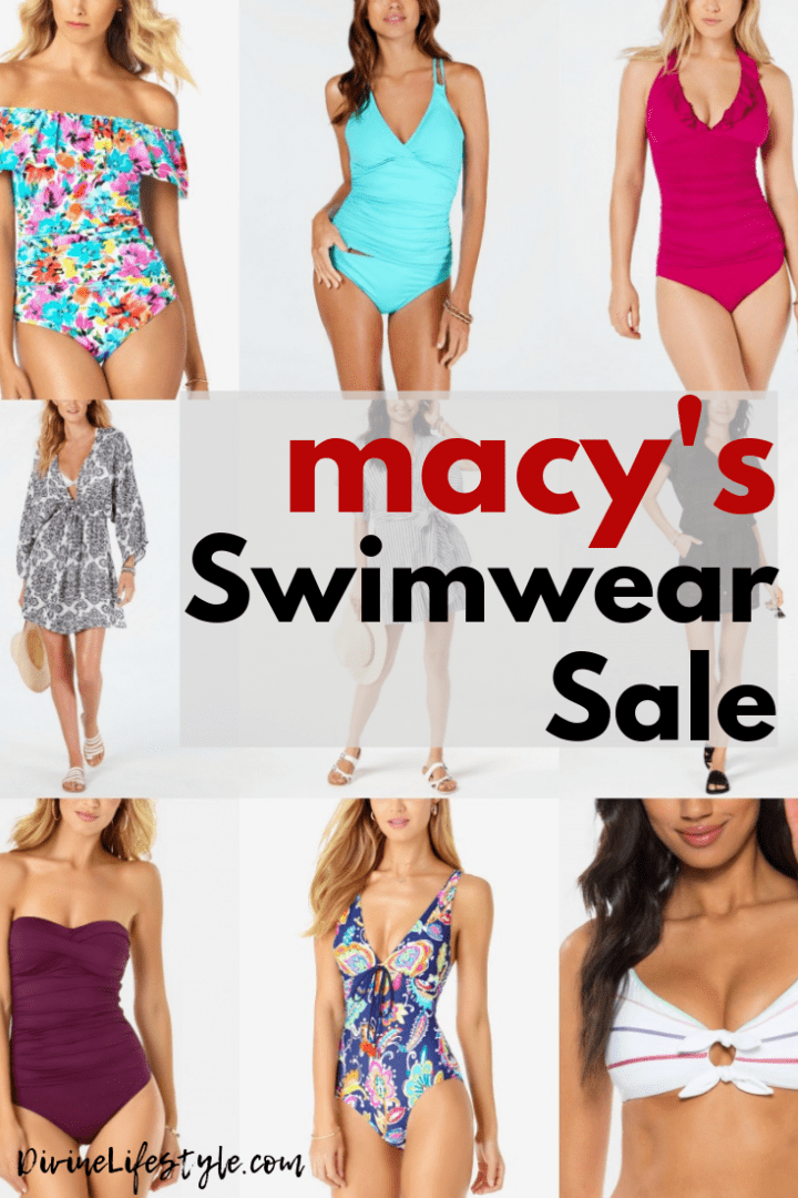 Why Swimwear makes the BEST Festival Wear | Macy's Swimwear Sale $9.99 and up #SwimIntoMacys