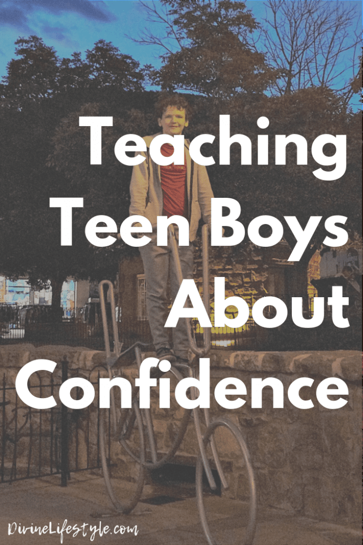 Art of MomVersation: Teaching Teen Boys About Confidence #AXEMomversation