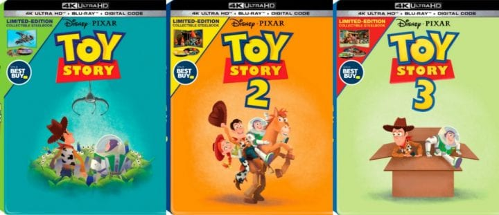 Get the Toy Story 4 4K Blu-Ray Collectible SteelBook and more at Best Buy #ToyStory4 #BestBuy