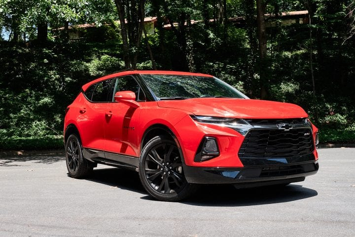 The All New 2019 Chevy Blazer 1