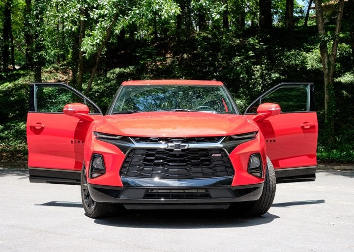 The All New 2019 Chevy Blazer 8