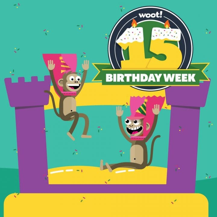 Join the WOOT 15th Birthday Week-long Celebration