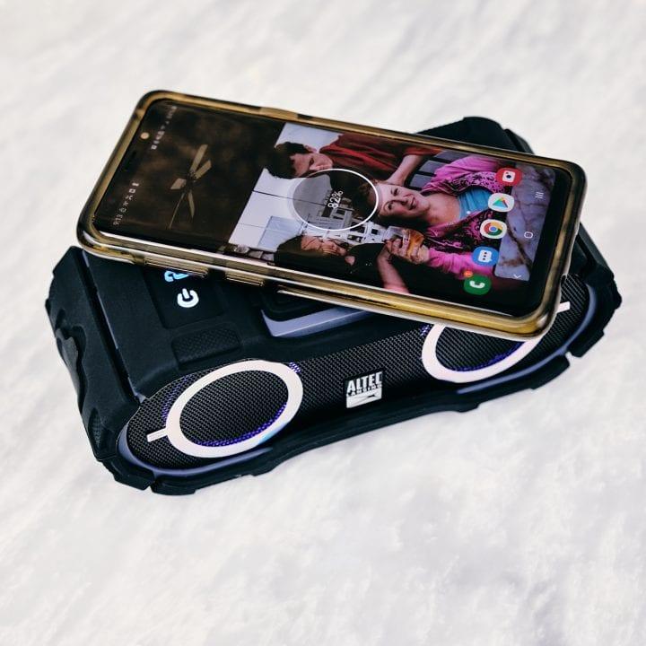 Altec Lansing BoomJacket Jolt Portable Bluetooth Speaker #myalteclansing #BestBuy