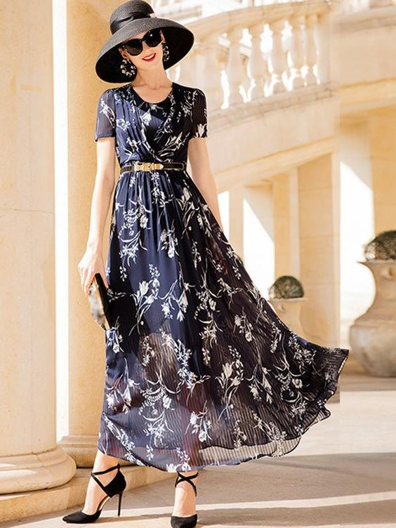 Stylish Ideas for Midi and Maxi Dresses