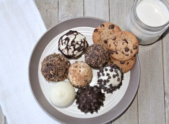 Cookies and Cream Cake Pop Balls