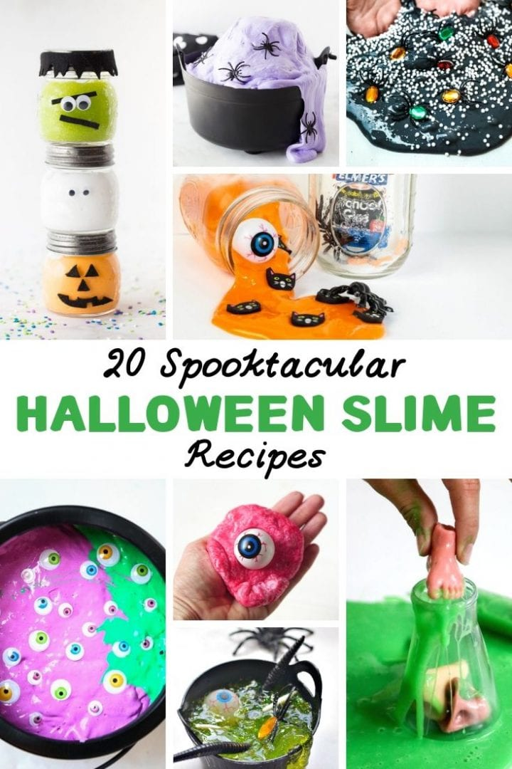 20 Halloween Slime Recipes
