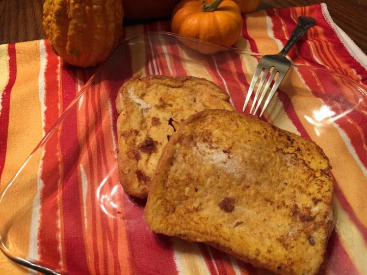 Pumpkin Spice French Toast Recipe