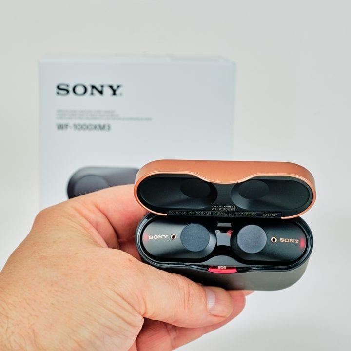 Sony WF-1000XM3 Noise Cancelling Wireless Headphones 3