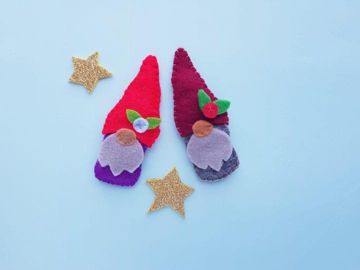 DIY Felt Christmas Gnomes