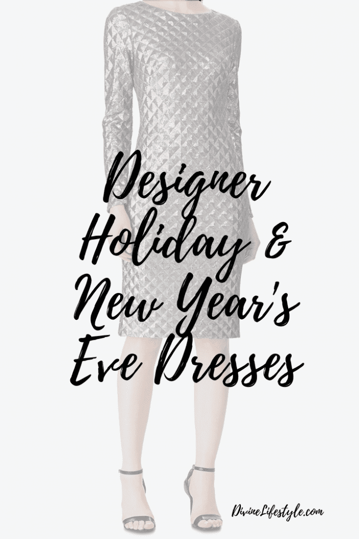 Designer Holiday and New Year's Eve Dresses ON SALE now at Macy's #DesignerMacys