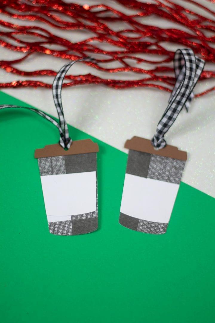 Free Printable Travel Coffee Cup Christmas Gift Tags
