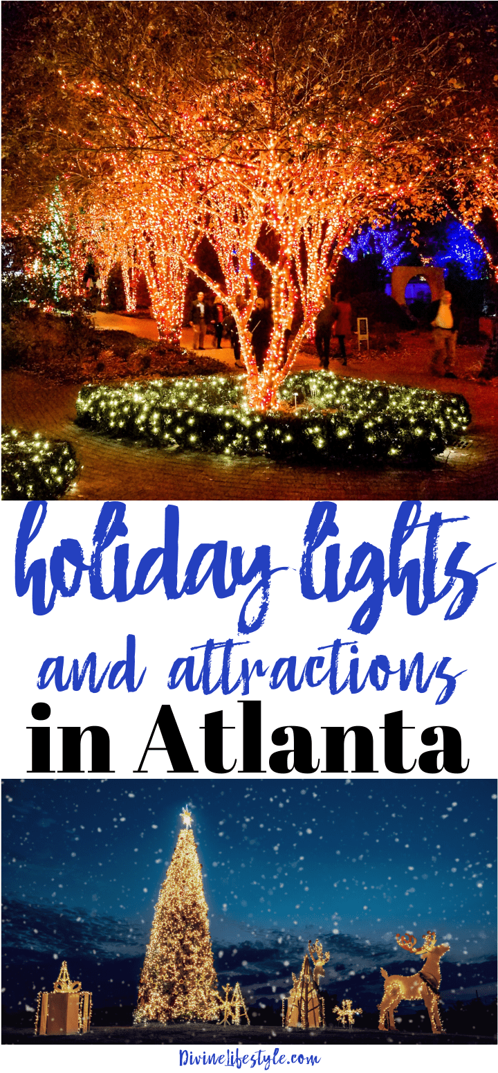 Holiday Lights and Attractions in Atlanta