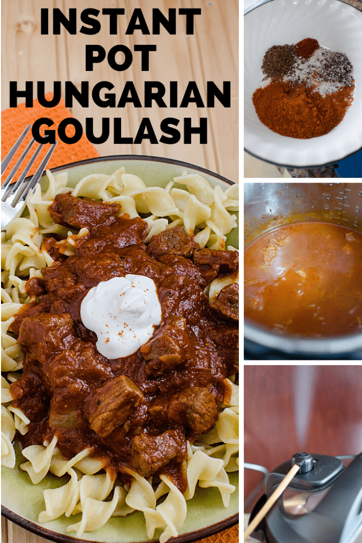 Best Instant Pot Goulash Hungarian Style