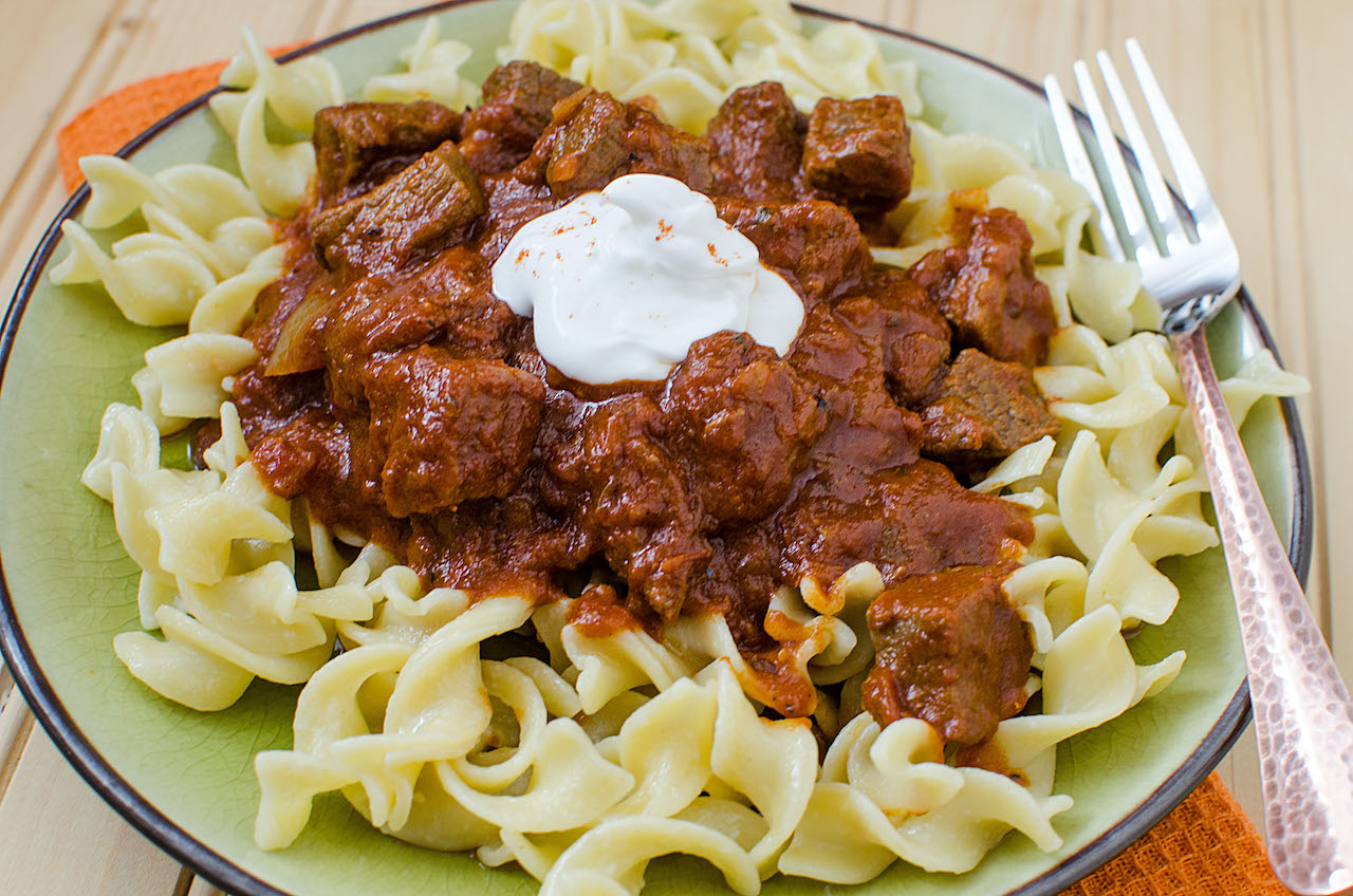Best Instant Pot Goulash Hungarian Style Dinner Divine Lifestyle